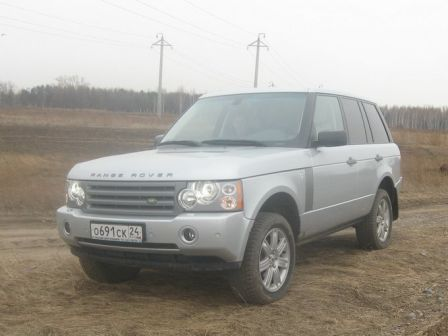 Land Rover Range Rover 2008 - отзыв владельца