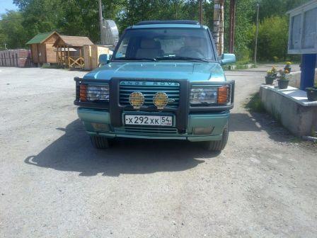 Land Rover Range Rover 1997 - отзыв владельца