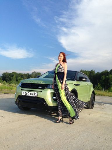 Range Rover Evoque 2013 отзыв автора | Дата публикации 24.04.2014.