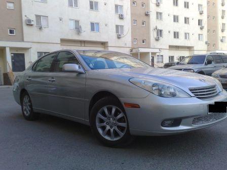 Lexus ES300 2002 - отзыв владельца