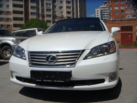 Lexus ES350 2010 - отзыв владельца