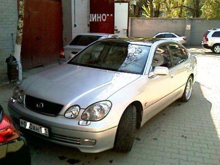 Lexus GS300 2010 - отзыв владельца