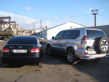 Lexus GS300 2008 - отзыв владельца