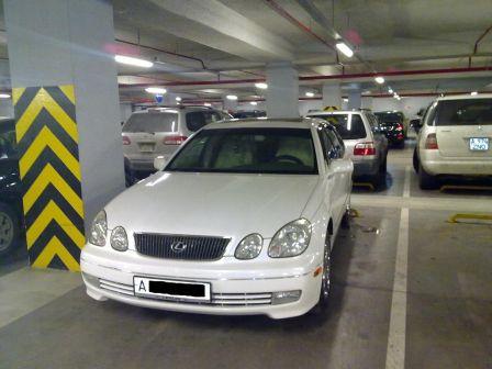 Lexus GS300 1999 - отзыв владельца