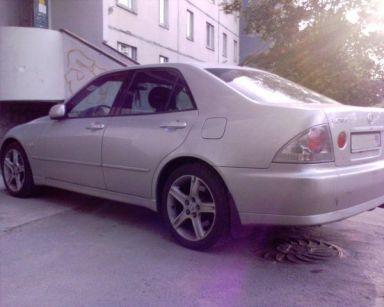 Lexus IS200 2001 отзыв автора | Дата публикации 14.10.2008.