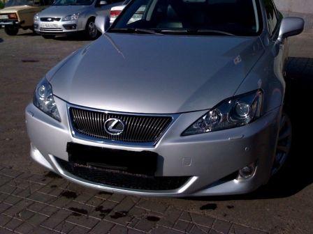 Lexus IS250 2008 - отзыв владельца
