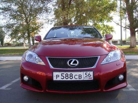 Lexus IS F 2008 - отзыв владельца