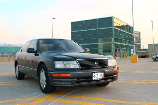 Lexus LS400 1996 - отзыв владельца