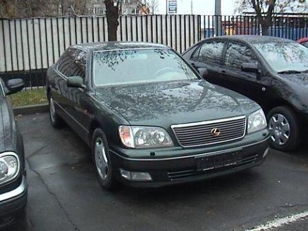 Lexus LS400 1998 - отзыв владельца