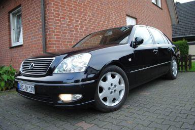 Lexus LS430, 2002