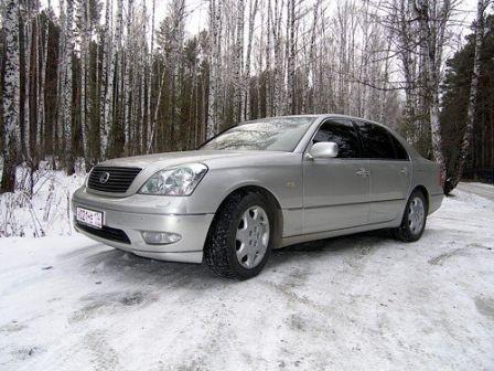 Lexus LS430 2000 - отзыв владельца