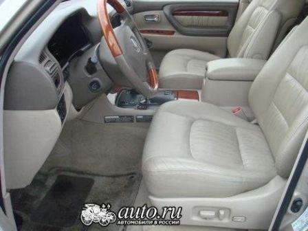 Lexus LX470 1999 - отзыв владельца