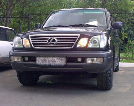 Lexus LX470 2006 - отзыв владельца