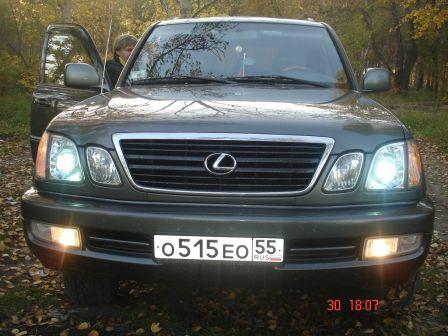 Lexus LX470 2001 - отзыв владельца