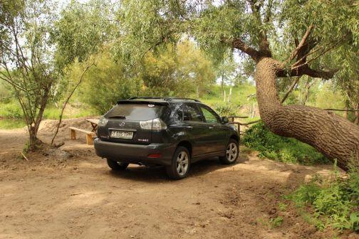 Lexus RX350 2007 - отзыв владельца
