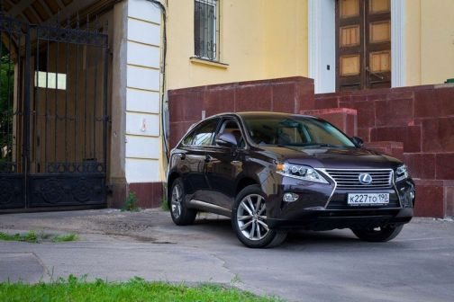 Lexus RX450h 2012 - отзыв владельца
