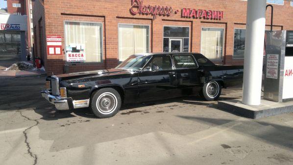 Lincoln Continental 1979 - отзыв владельца