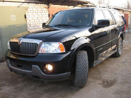 Lincoln Navigator 2003 - отзыв владельца