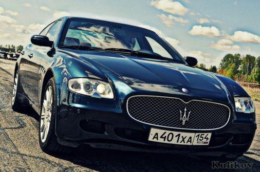 Maserati Quattroporte 2006 - отзыв владельца