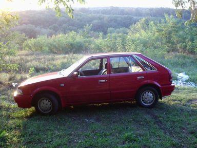 Mazda 323F, 1988