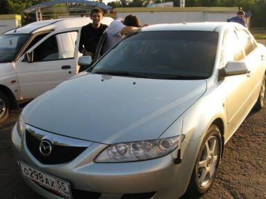 Mazda Atenza 2002 отзыв автора | Дата публикации 27.11.2008.