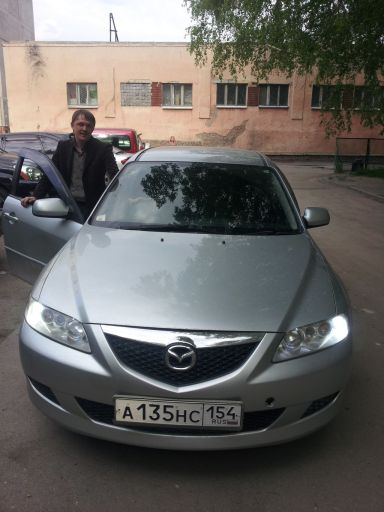 Mazda Atenza 2004 отзыв автора | Дата публикации 09.01.2013.
