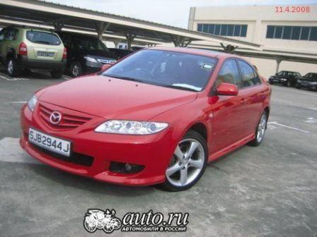 Mazda Atenza 2004 - отзыв владельца