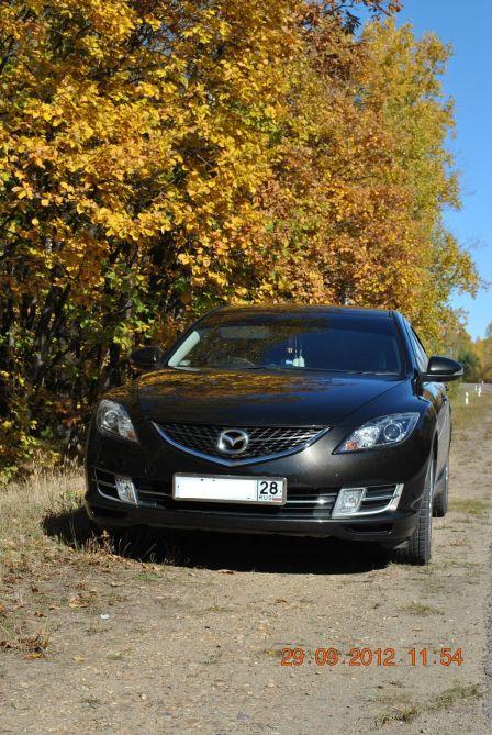 Mazda Atenza 2009 - отзыв владельца