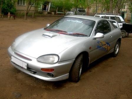 mazda autozam az-3, 1995 г.в. салон