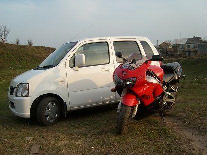 Mazda AZ-Wagon 2002 - отзыв владельца