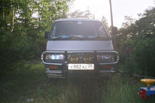 Mazda Bongo 1990 - отзыв владельца