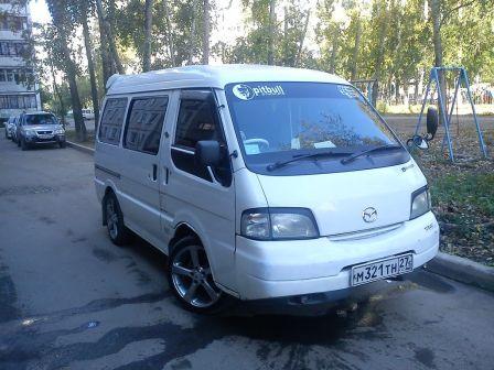 Mazda Bongo 1999 - отзыв владельца