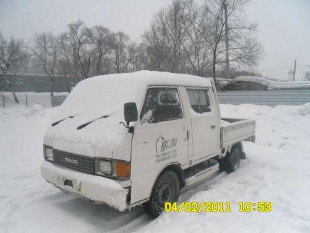 Mazda Bongo 1991 - отзыв владельца