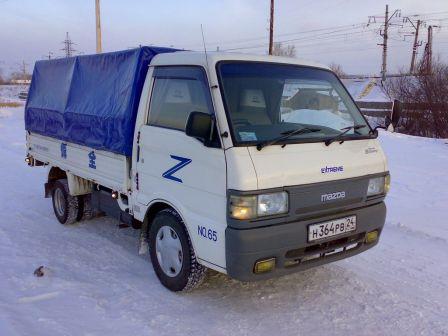 Mazda Bongo Brawny 1998 - отзыв владельца