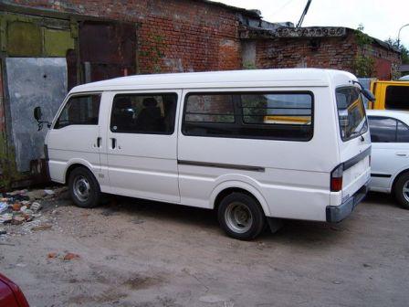 Mazda Bongo Brawny 1999 - отзыв владельца