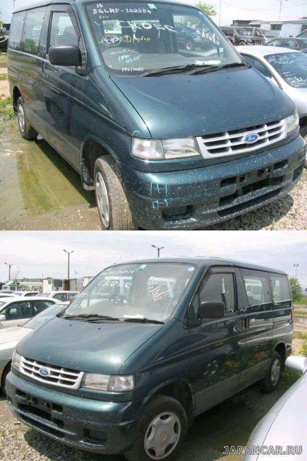 Mazda Bongo Friendee 1995 - отзыв владельца