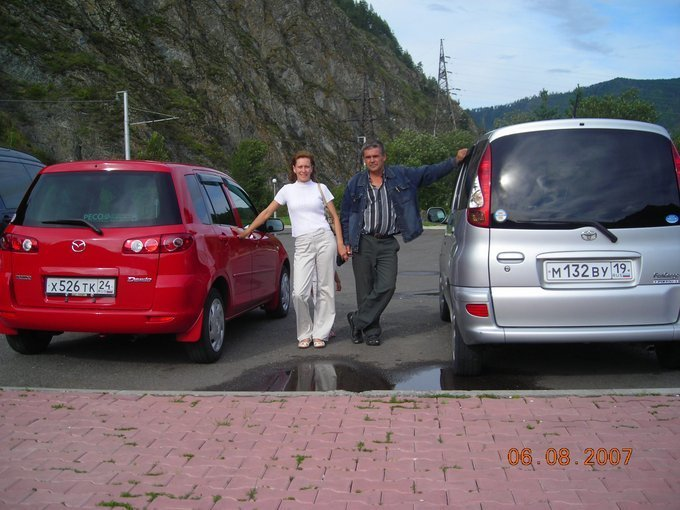 mazda 2 demio 2008 установка сигнализации