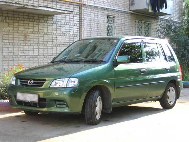 mazda demio 2000 комплектация lx-s