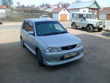 Mazda Demio 2001 - отзыв владельца