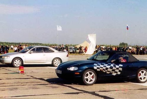 Mazda Eunos Roadster 1998 - отзыв владельца