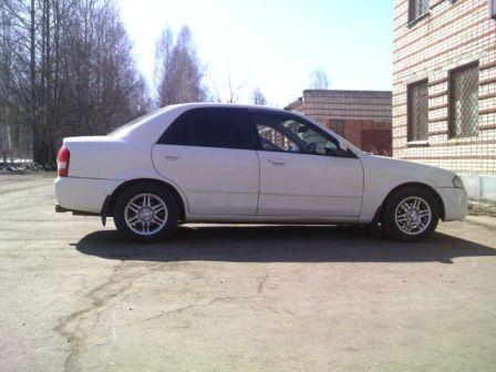 Mazda Familia 1998 - отзыв владельца