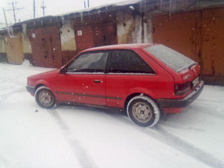 Mazda Familia 1986 - отзыв владельца