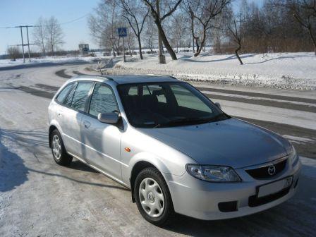 Mazda Familia S-Wagon 2003 - отзыв владельца