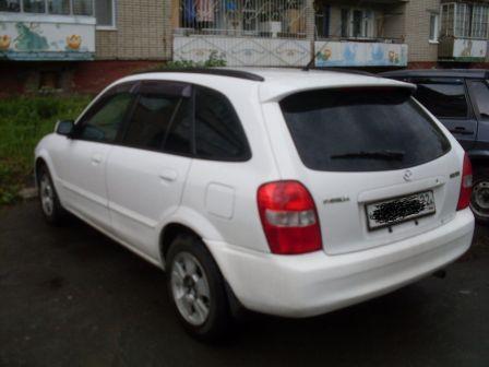 Mazda Familia S-Wagon  - отзыв владельца