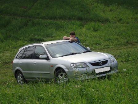 Mazda Familia S-Wagon 2000 - отзыв владельца
