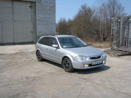 Mazda Familia S-Wagon 1999 - отзыв владельца