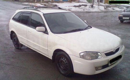 Mazda Familia S-Wagon 1998 - отзыв владельца