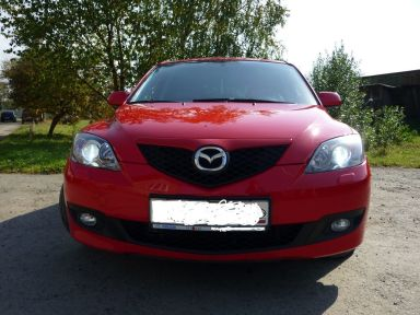 Mazda Mazda3 2008 отзыв автора | Дата публикации 18.11.2012.