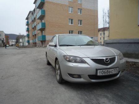 Mazda Mazda3 2004 - отзыв владельца
