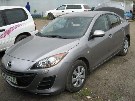 Mazda Mazda3 2010 - отзыв владельца